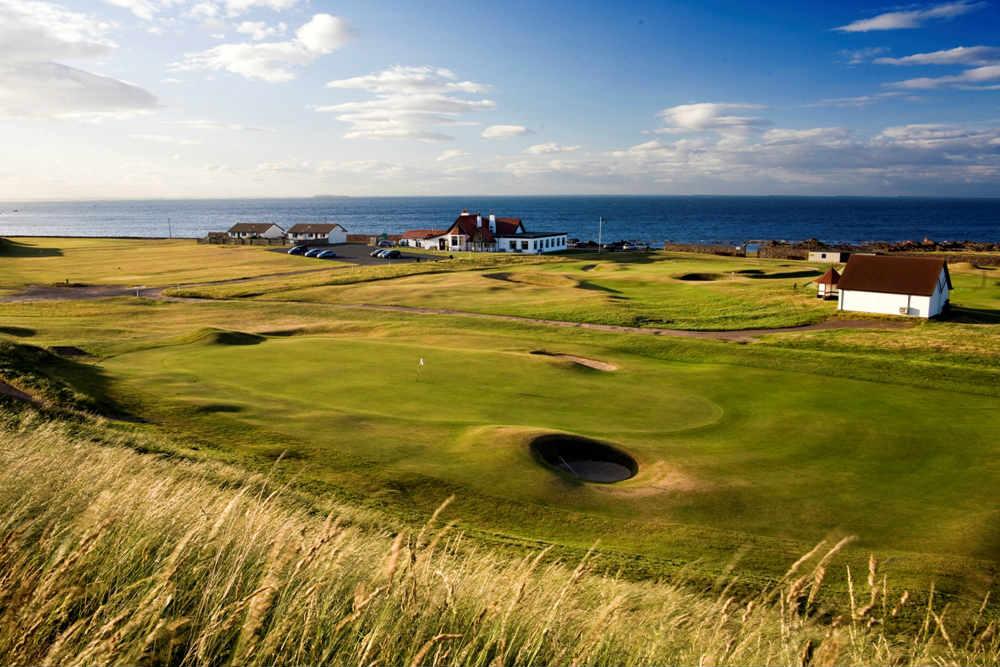 Club-House du club de golf de Dunbar