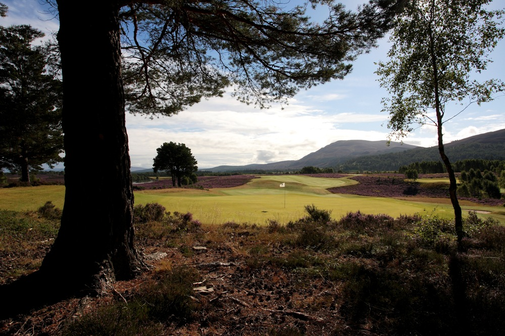 Green lors du Pro-Am Scottish Hydro Challenge