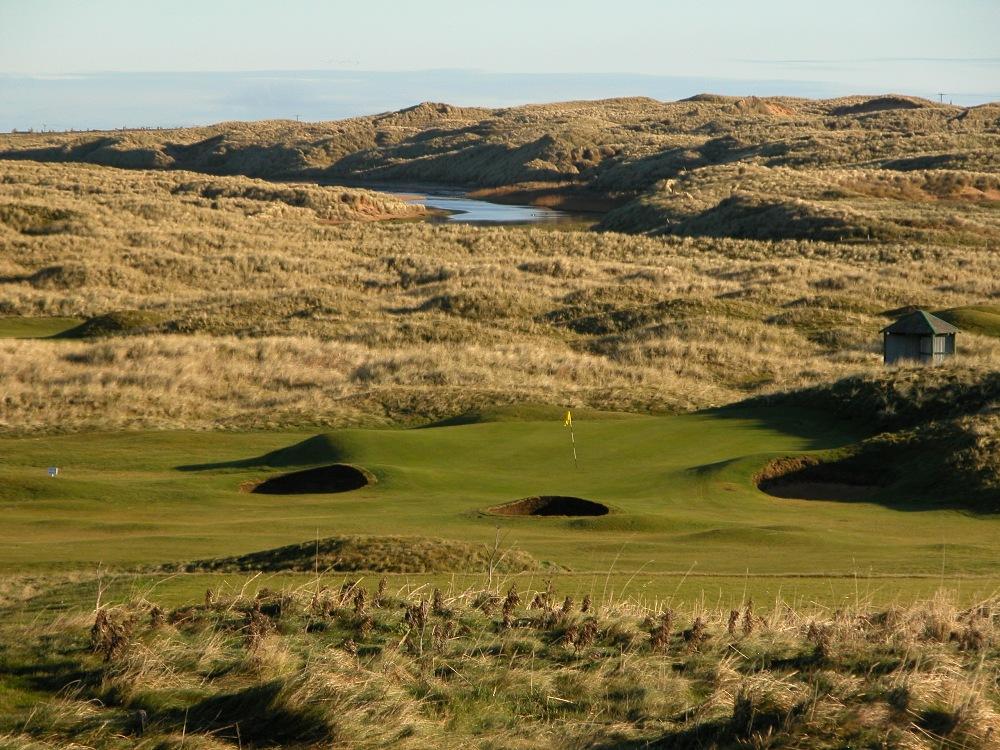Green et dunes sur le parcours de Fraserburgh