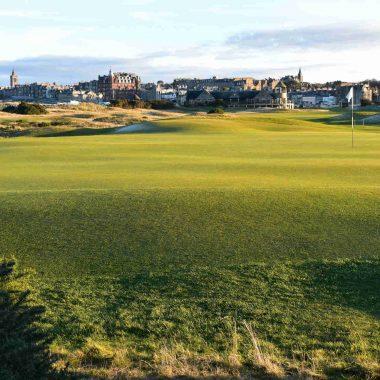 Départs garantis pour le golf à St Andrews en Ecosse