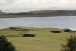 Green et bunkers sur le parcours de Castle Stuart