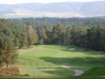 Large green sur le parcours de Grantown on Spey