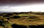 Dunes et green sur le parcours du Royal Troon