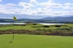 Large green et vue sur le parcours de Skibo Castle