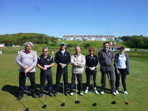 Groupe de golfeur lors d'un séjour  de golf en Ecosse