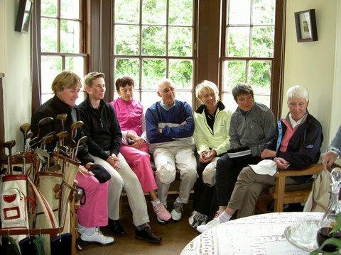 Groupes de golfeuses lors d'un séjour de golf en Ecosse