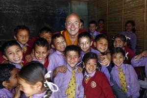 Fondation Karuna Shechen Ecole Nepal avec Matthieu Golf Travellers