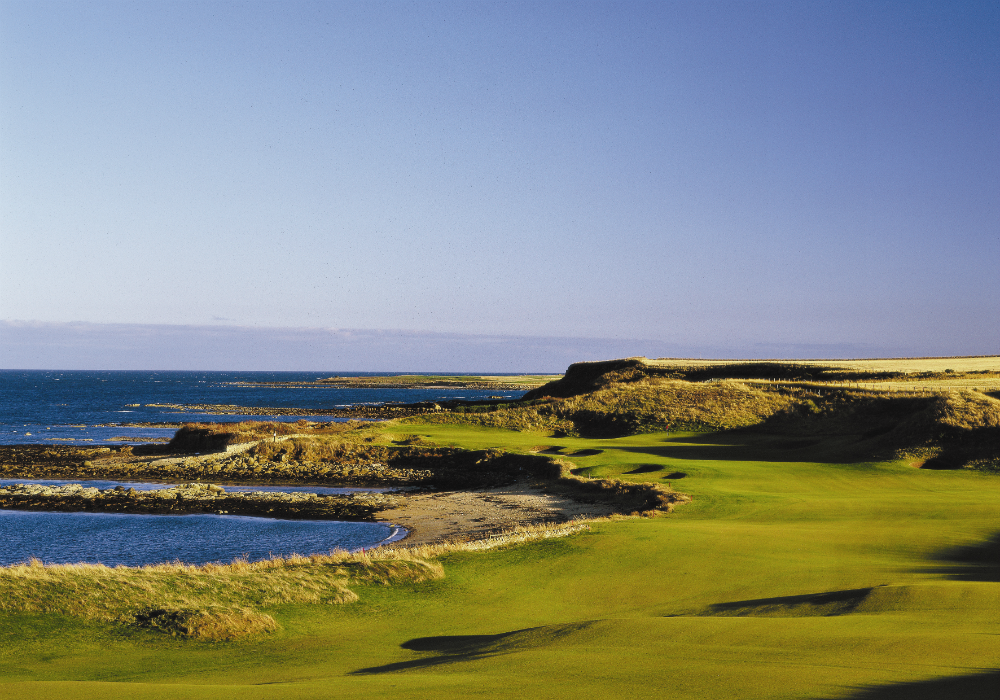 Trou 12 de Kingsbarns par 5
