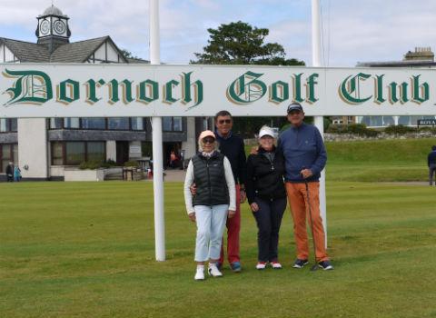 Séjour de golf en En Ecosse