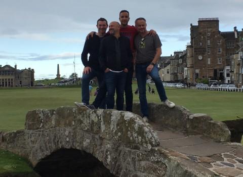 Excellent séjour de golf